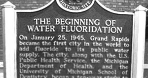water Fluoridation 1945 beginning
