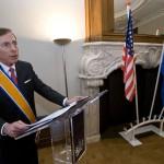 The Dutch Minister of Defense has Knighted US GEN David Petraeus