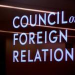 CFR: Agenda for 2013….