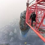 Fake Or Real? Two Russians Daredevils Climbed Shanghai Tower