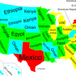 In One Eye-Opening Map...US States as Countries with Similar GDP