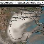Historic Saharan dust plume is darkening skies in the Caribbean and will soon stretch into the US