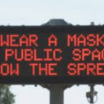 MI...No Money To Fix The Damn Roads, but they have it to install digital signs along highways, encouraging residents to follow Gov. Gretchen Whitmer's wear a mask order
