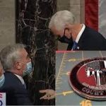 VP Mike Pence receives masonic SILVER HANDSHAKE after vote certification