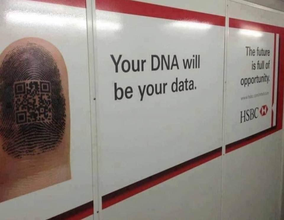 your dna will be your data
